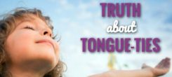 Myofunctional Therapy Infographic – The Truth About Tongue-Ties