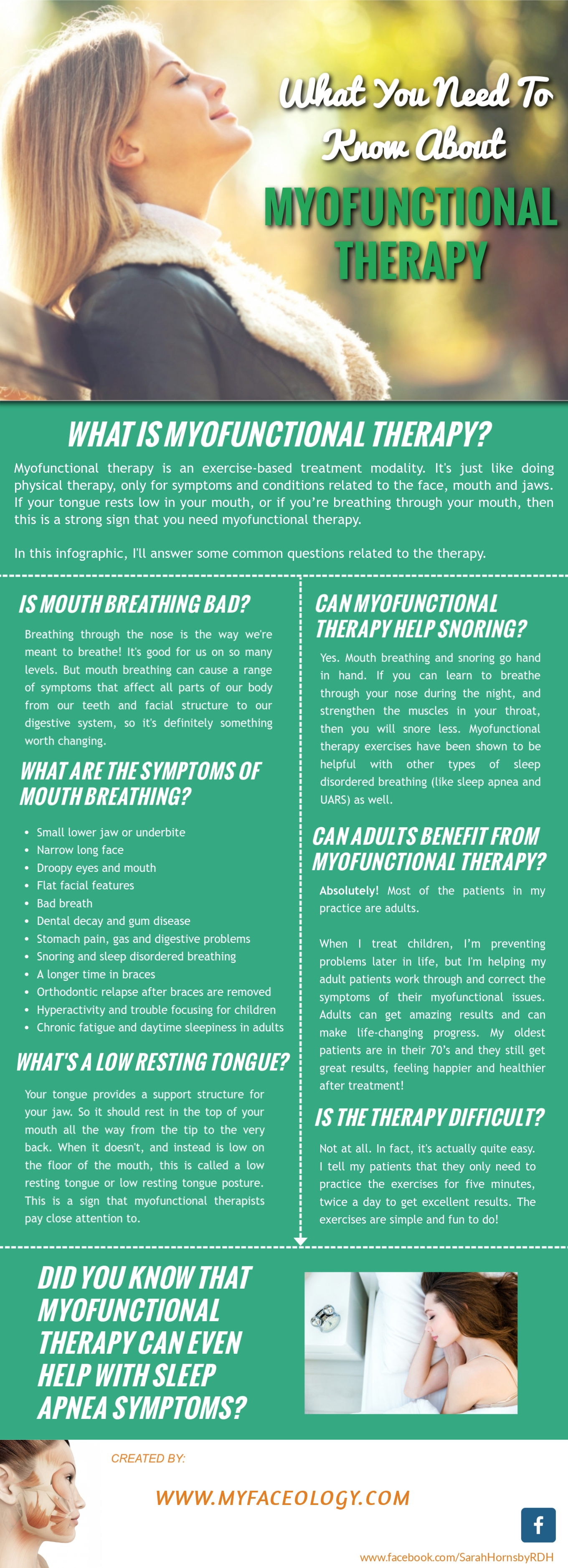what is myofunctional therapy